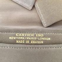 Vintage Cartier Suede Clutch Bag Cartier Inc Made in France Early 20th Century Photo