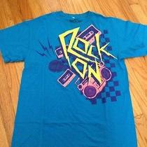 Vintage Cassette Tape Rock on T Shirt Neon - Pacsun Urban Outfitters Photo