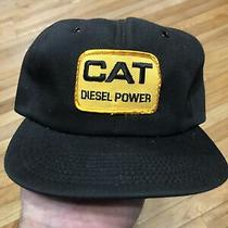 Vintage Cat Diesel Power Hat Made in Usa Photo