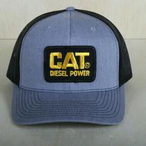 Vintage Cat Patch on a Richardson 112 Trucker Snapback Hat Cat Diesel Power Photo