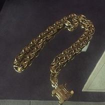 Vintage Celine Gold Belt Photo