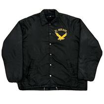 Vintage Champion Running Man Coaches Jacket 60s Nylon Lined Black Sz Xl Photo