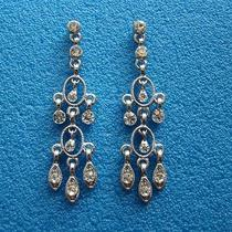 Vintage Chandelier Earrings Bridal Swarovski Earrings E2220 Photo