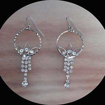 Vintage Chandelier Earrings Party Swarovski Crystal Earrings E2255 Photo