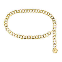 Vintage Chanel Chain 31 Rue Cambon Medallion Coin Adjustable Belt Gold Necklace Photo