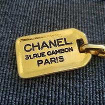 Vintage Chanel Leather Belt and Earrings  Photo
