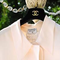 Vintage Chanel Off White Blouse Photo