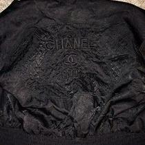 Vintage Chanel Quilted Bomber Jacket Photo