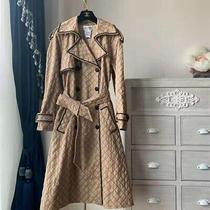 Vintage Chanel Trench Coat 04p Fall Collection Fr Size 38 Photo