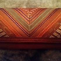 Vintage Chevron Fossil Wallet Nwot Rare Find in This Style Photo
