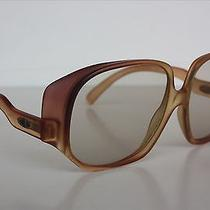 Vintage  Christian Dior 2022 80 Honey Orange  Sunglasses Frames 52x14 Germany Photo