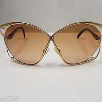 Vintage Christian Dior Butterfly Sunglasses Circa 1970 Photo