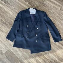 Vintage Christian Dior Monsier Db Navy Blazer Size 42 Photo