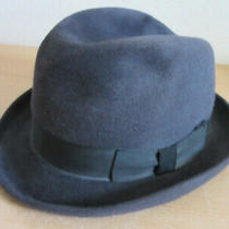 Vintage Christian Dior Monsieur Mens Fedora Hat 7 1/4 Photo