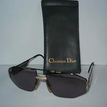Vintage Christian Dior Monsieur Sunglasses Mod 2427 Dior Case & Dior Bag/cloth Photo