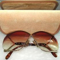 Vintage Christian Dior Sunglasses Oversized Butterfly 2056 47 Prescription Photo