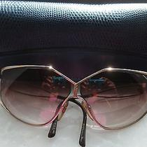 Vintage Christian Dior Sunglasses Oversized Butterfly Frame 2345 41 Prescription Photo