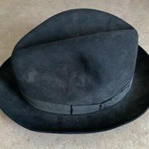 Vintage Christys London Hat 7 1/4 or 59 L. 100% Fur Felt Photo
