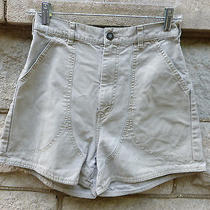 Vintage Clay Organic Cotton Patagonia Stand-Up Shorts 10 Medium Camp Couture Photo