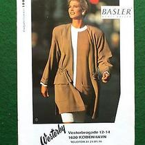 Vintage Clothing catalog.basler.. Spring/summer 1992.  Photo