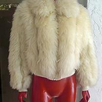 Vintage Clothing Curly White Lambs Wool Jacket  Photo