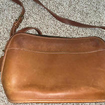 Vintage Coach 9221 British Tan Leather Crossbody Bag Purse Handbag Made in Usa Photo