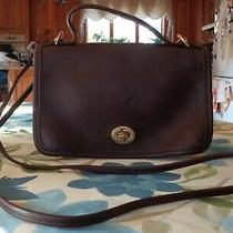 Vintage Coach 9924 Casino Brown Glove Leather Crossbody/ Shoulder Handbag  Photo