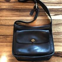 Vintage Coach 9980 Black Taft Bag Hobo Crossbody Messenger Photo