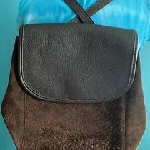 Vintage Coach Berkeley Backpack Brown Reverse Suede 9016 Photo