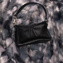 Vintage Coach Black Glove Leather Sm City Shoulder Bag Usa New Photo