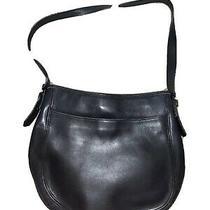 Vintage Coach Black Leather Chelsea Hobo Shoulder Bag Purse no.h8d-6003 Usa Photo