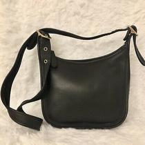Vintage Coach Black Leather Janice Legacy Shoulder/ Crossbody Bag 9950 Photo