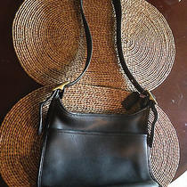 Vintage Coach Black Shoulder Handbag Photo