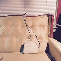 Vintage Coach  Bone  Leather Abbie  Crossbody Bag Photo