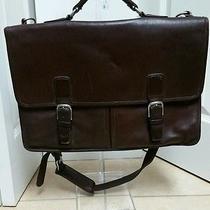 Vintage Coach Briefcase/ Laptop Cross Body Bag Photo