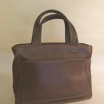 Vintage Coach Brown Bleeker Purse Handbag Tote Satchel  Style 9303 Photo