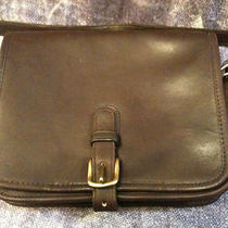 Vintage Coach Brown Buckle Messenger Bag Purse  Photo
