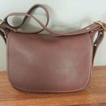 Vintage Coach Brown Leather Patricia Legacy Shoulder Crossbody Bag 9951 Photo