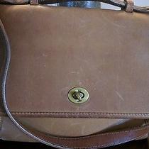 Vintage Coach Camel Court Bag 0360-905 Photo