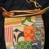 Vintage Coach Designer Handbag Photo