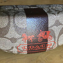 Vintage Coach Eye/ Sun Glass Case Iconic Pattern and Not in Perfect Condition Photo