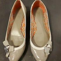 Vintage Coach Grey Wedge Flats Size 10 Photo