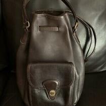 Vintage Coach Handled Backpack Photo