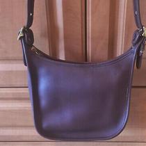 Vintage Coach Janice Legacy Brown Leather Shoulder Bag Handbag 9950 Photo