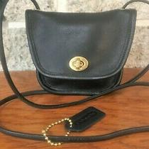 Vintage Coach Leather Everett 9934 Mini Crossbody Messenger Handbag Purse Us Bag Photo