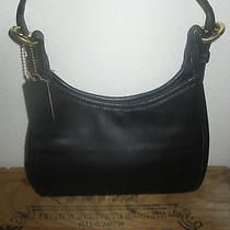 Vintage Coach Leather Satchel Hobo Bag Shoulderbag  Purse Photo