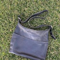 Vintage Coach Legacy Black Leather Bag Purse H1p-9148 Shoulder Classic Photo