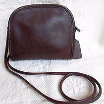 Vintage Coach Mahogany Leather Abbie Demi Shoulder Cross Body Bag 9017 Perfect  Photo