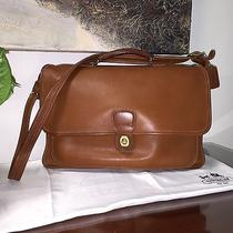 Vintage Coach Messenger Bag Briefcase Laptop Crossbody             Photo