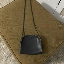Vintage Coach Mini Crossbody Bag Black Small Shoulder Purse Photo